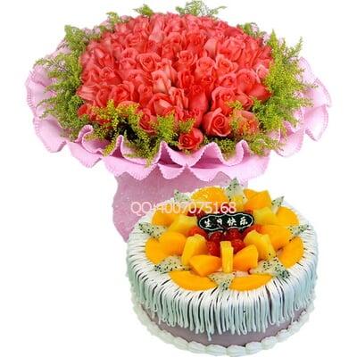 纸盘手工制作花朵相框