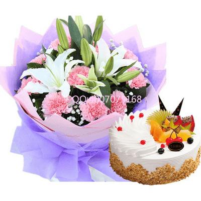 蛋糕盘手工制作花朵