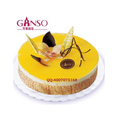 慕思柠檬,蛋糕美食,生日蛋糕