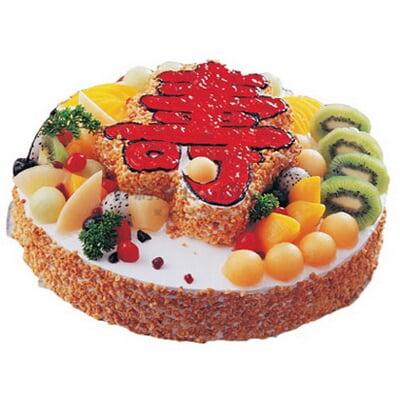 2016欧式情人节水果蛋糕图片